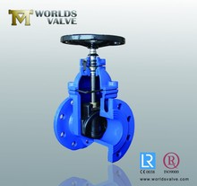 Gate Valve Wedge Disc covered with rubber