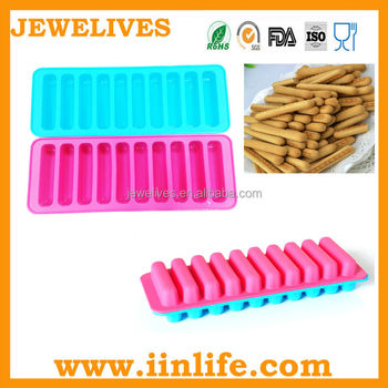 Hot sale Silicone fingers Mould,Silicone Biscuit Mould