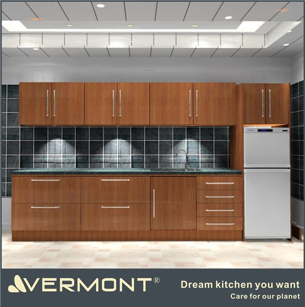 2017 melamine kitchen cabinet made in China(VT-MK-009)