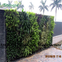 SJ manufacture green wall planter, plant artificial walls