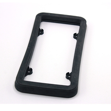 A-183 High hardness vehicle bumper shield protector save collision lower damage car licence plate frame