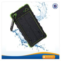 AWC088 Green 8000mAh 16000mAh Waterproof Mobile Solar Charger China Mobile Phone Battery For Iphone