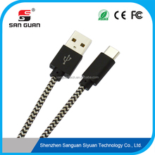 android tablet use c type male to usb a type male braided usb cable