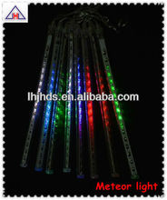 LED Christmas meteor shower light RGB color
