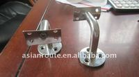 stainless steel square glass clamp/spigot/handrail support/friction clamp