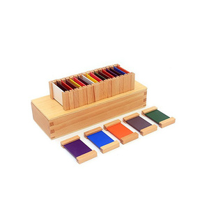 Good Quality Montessori Sensory Color 2rd Box Wood Toys for Kid