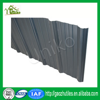 anti-weathering hot red anti-uv small wave pvc roof tile with CE certificate
