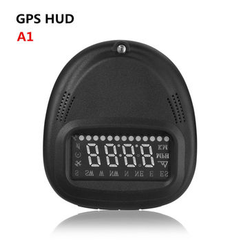GPS Car Head Up Display Apply for All Car From 1990-2015 year Display Vehicle Speed, Real Time, Over Speed Alarm,