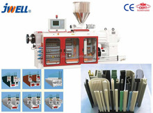 JWELL - Only Screw Maker 40 Years Experience Turn key project pvc profile production line