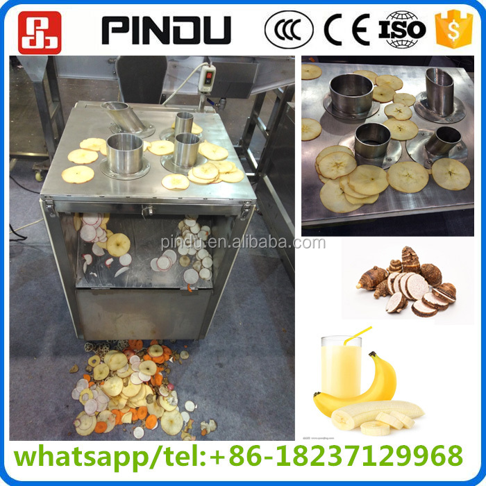 stainless steel electric lotus root carrot onion rings slicer cutter machine/vegetable fruit slicing machine price