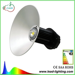CE RoHS SAA CUL 85lm/w 100w industrial led high bay light led canopy light