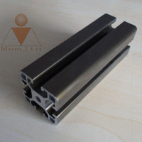 polished aluminum extrusion profiles concrete window and door frame with powder coating