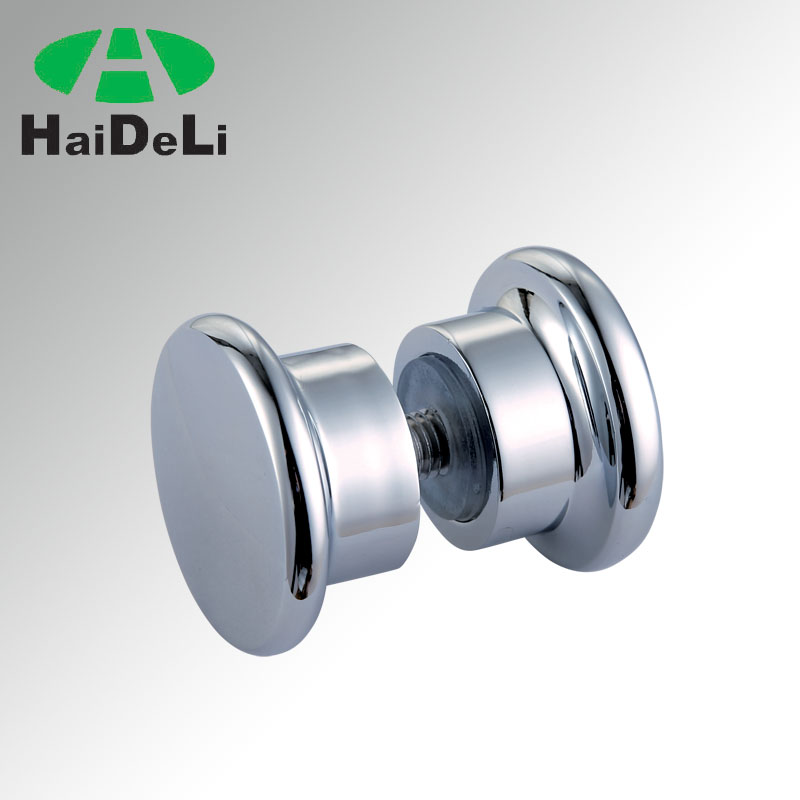 2017 shower room glass sliding door pull handle knob