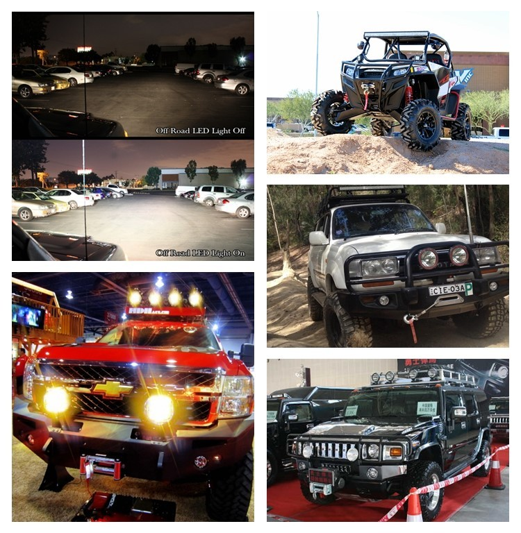 Wholesale led light bar 30W 7 inch Offroad Driving Light for Truck