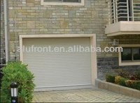 High quality Aluminium Slat garage door with manual&electric motor