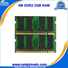 Shenzhen Joinwin ETT original chips ram memory notebook ddr2 2g 800
