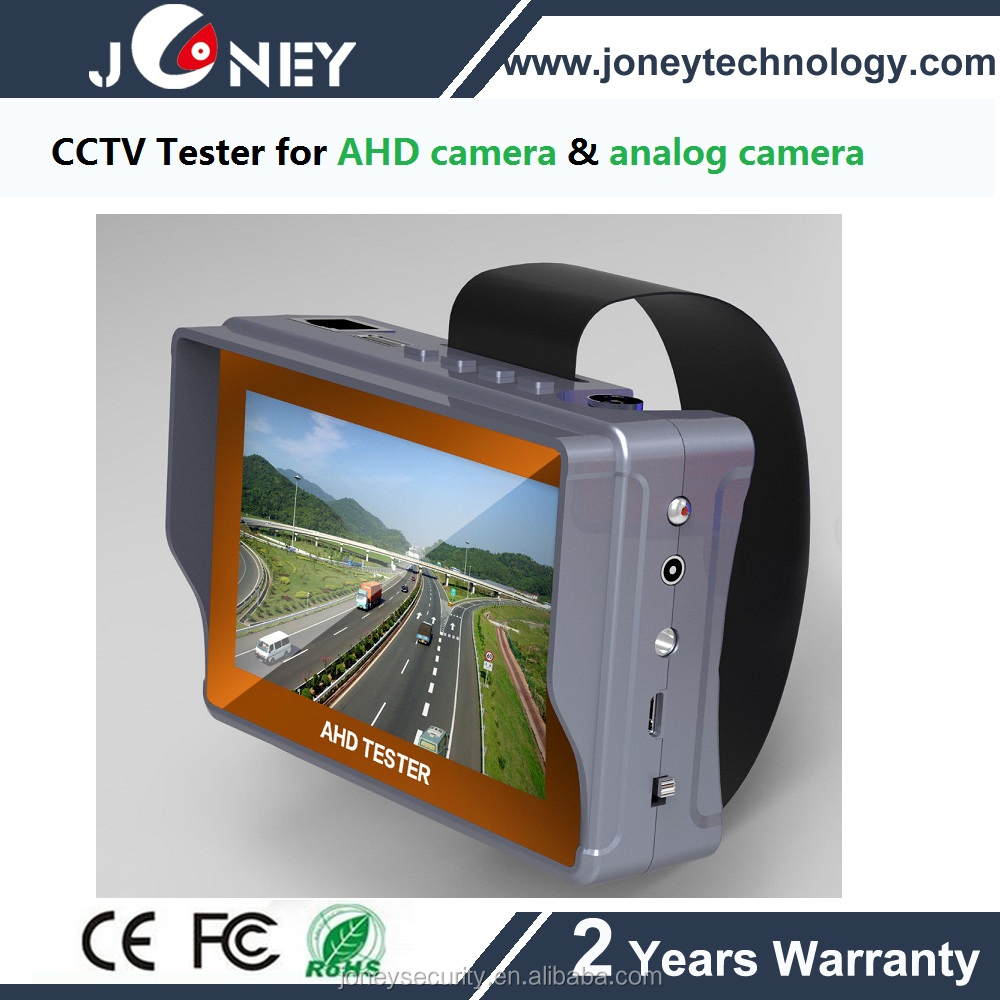 4.3inch LCD CCTV Tester,AHD Tester,analog camera tester