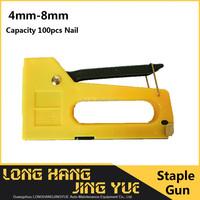 Professional metal hand tacker staple gun stapler kit nail gun resonable price Nail Gun