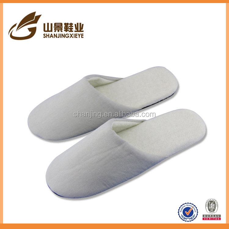 cotton fabrics stock shoe comfort gel slipper