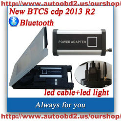 autoobd2.us sale BTCS CDP BOX SELLING support the car& truck With Bluetooth +LED cable+LED light+ software 2013 R2