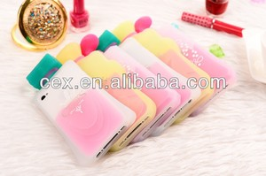 For iPhone 5 5s New Silicone Perfume Bottle Case Cover