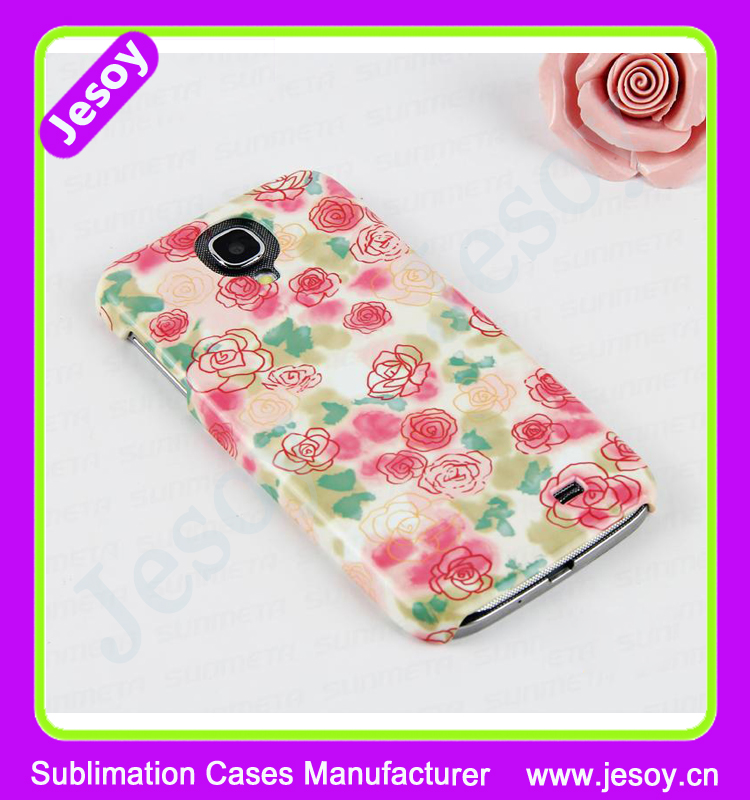 JESOY 3D Sublimation Printing Custom Design Case Cover For s4 mini Samsung Galaxy S4