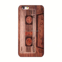 Full Coating IMD phone case for iphone 6 case marble wood pattern cell phone cover for iphone 6s case