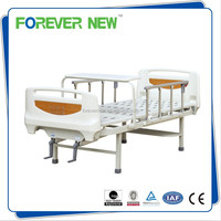 YXZ-C-043 2 Crank Intensive Care Patient Bed With Pneumatic Side Rails