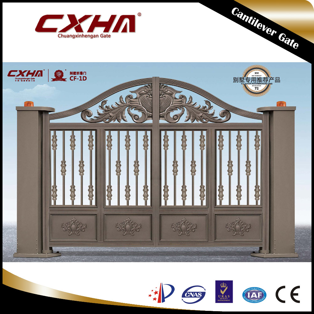 Front Door Designs for Factory Motorized Gate