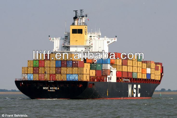 Tianjin cargo ship to Pakistan