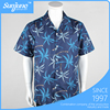 China wholesale Coconut palm print man hawaiian shirt