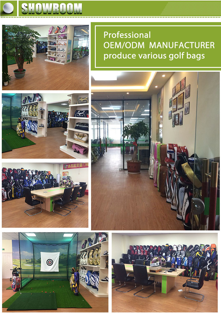 OEM/ODM Nylon Golf staff bag Custom Golf cart Bag With Factory Price