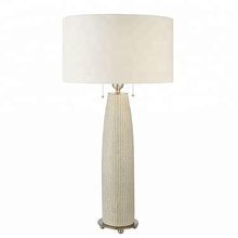 wholesale decorative luxury tall white ceramic table lamps