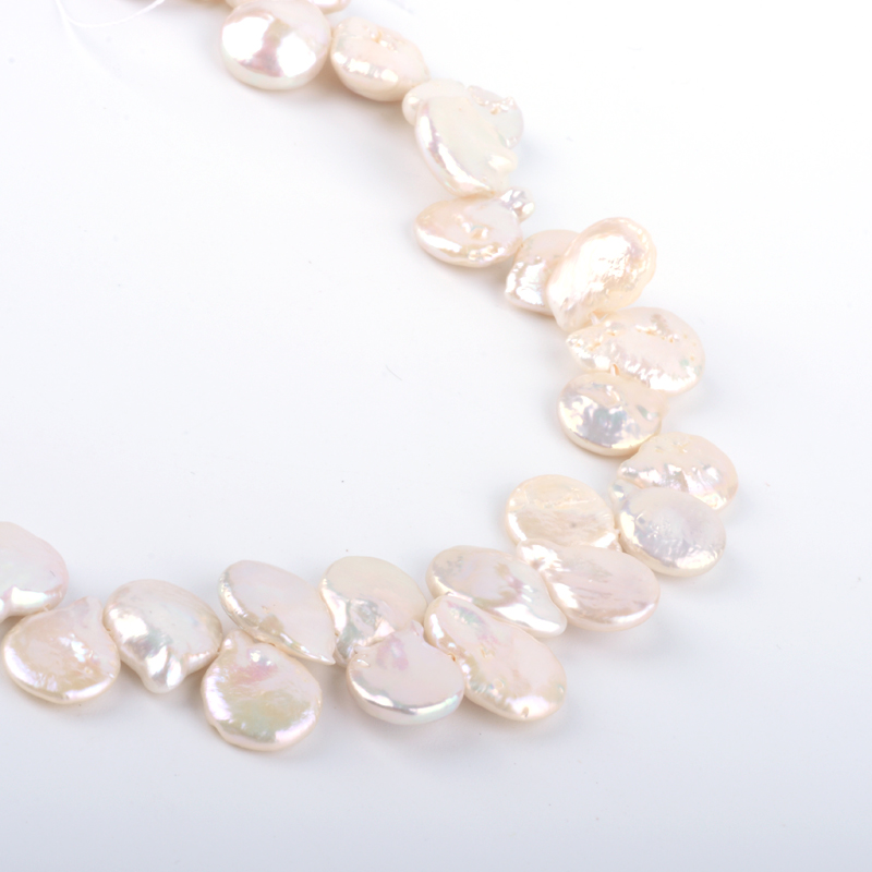 High Quality Freshwater Drop Natural Keshi Pearl Beads Strands
