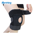 hot selling running compression knee sleeve Football basketball Sports knee protector for climbing knee brace strap