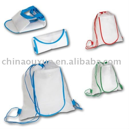Most fashion non woven bag drawstring pouch