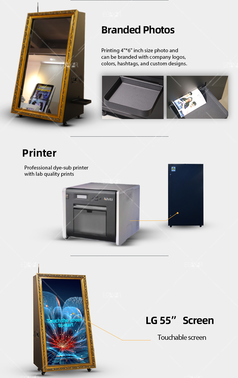 2019 High Quality LED Professional Self Service Printing Kiosk