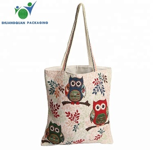 Custom promotion eco friendly foldable cotton shopping tote bag