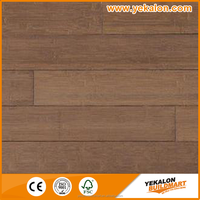 Outdoor solid coffee color high gloss vertical carbonized bamboo flooring
