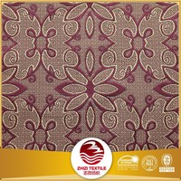 100% polyester jacquard sofa cheap african fabric