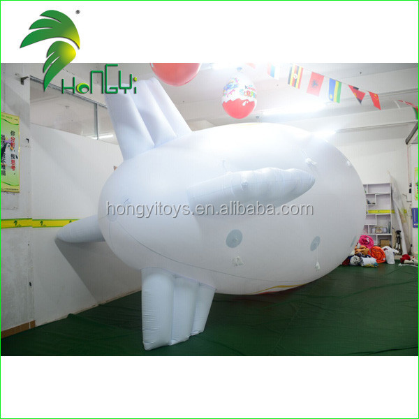 Customized Advertising Inflatable Airship , Inflatable Blimp Helium Balloon , Inflatable Zeppelin for Sale