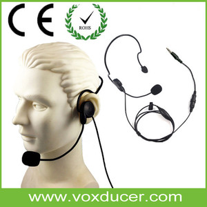Two Way Radio Headset for Telephone Operator/Guangdong Military Headset