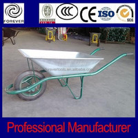 building construction tools solid rubber wheel barrow WB4202