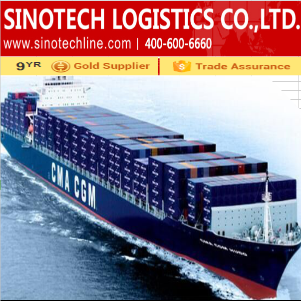 container sea shipping LCL/FCL from China to LONG BEACH at low cost
