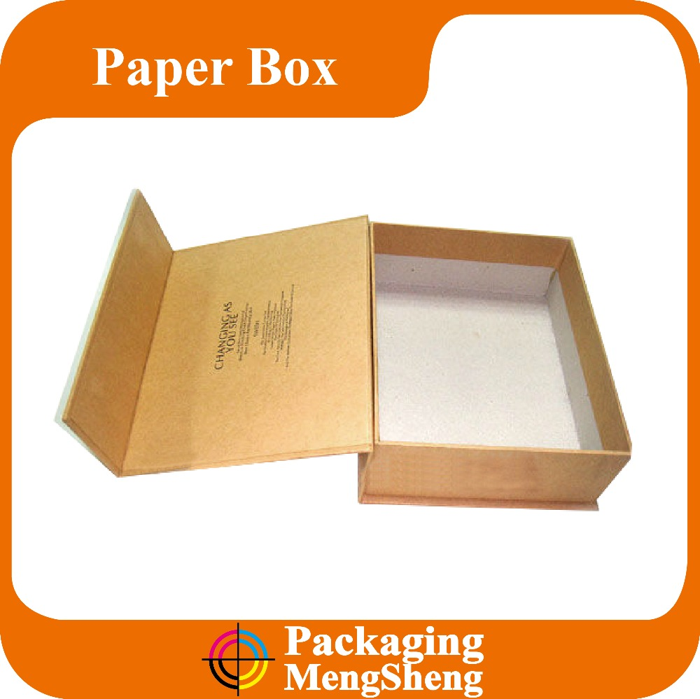 Wholesale elegant foam insert book shaped box packaging magnetic white paper gift box