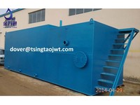 packaged industrial waste water treatment device