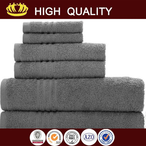 selectable 100% hand cotton power loom hand terry towels with low price