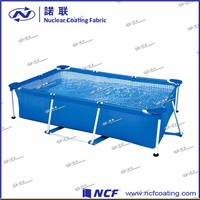 Square soft PVC indoor shrimp farming folding fish tank