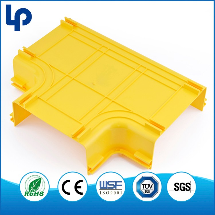 China OEM PVC or ABS fiber optic cable tray for tv and video