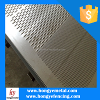 Aluminum Noise Barrier / Sound Barrier Punch Sheet Made in China